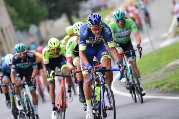 Na cyklistickém etapovém závodě Czech Tour se navlékl do žlutého Daryl Impey