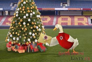 Fotbalová Sparta jako dárek pod stromeček