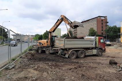Stavba průtahu Přerovem pokračuje nejen zemními pracemi