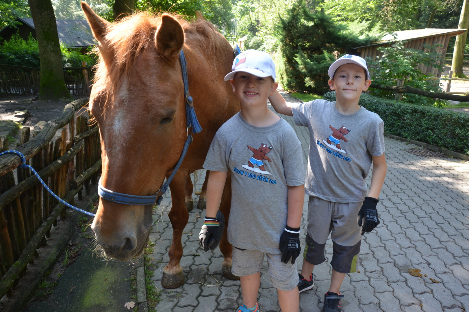 Táborníci si v zoo Děčín užili báječný týden plný zážitků